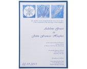 Beach Wedding Invitations - Anna Maria Island Wedding Invitation Suite SAMPLE