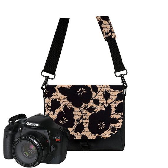 Amazing Womens Dslr Camera Bag Purse Van Gogh Irises Messenger Bag