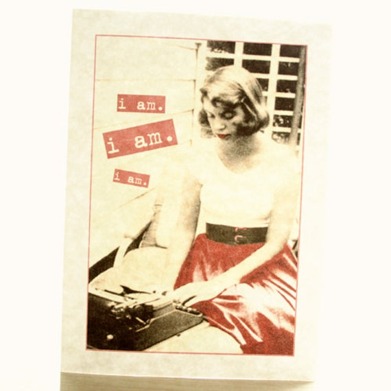 I Am Sylvia Plath Cards - Set of 4