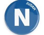 Three MUNI train buttons - N judah