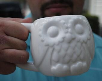 Owl Mug Handmade Ceramic from my Charleston, SC Studio