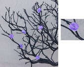 Amethyst Silk Flowers (1 color) - Tree Accessory ONLY