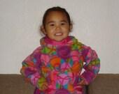 Beautiful Warm Handmade Fleece Alaska Native Child  Kuspuk Made to Order