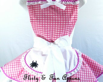 Little Miss Muffet Costume Apron