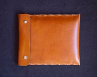 IPad case, IPad sleeve, IPad 3 case, IPad 3 sleeve, IPad retina case, IPad retina sleeve, leather IPad case, IPad bag - Brown leather