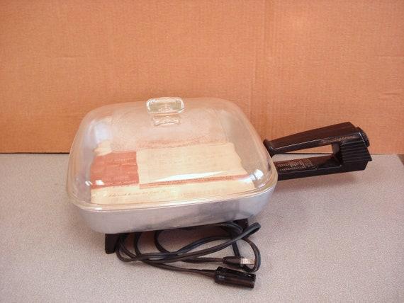 Vintage Wesinghouse Electric Broiler Skillet Fry Pan
