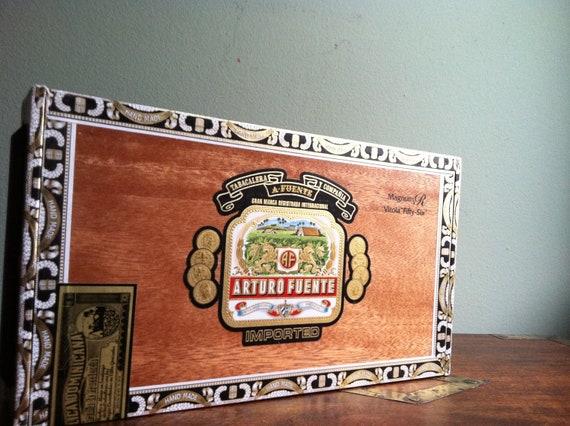 Cigar Box for Crafting - Supplies - Arturo Fuente - Dominican Republic