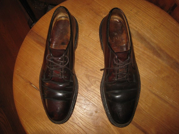 Vintage    Florsheim  Imperial    Shell Cordovan  Oxfords      Mens  9  A