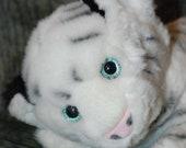 Hot/cold corn animal: White tiger