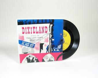 1950s Dixieland Vinyl Album by The Left Bank Bearcats 45RPM