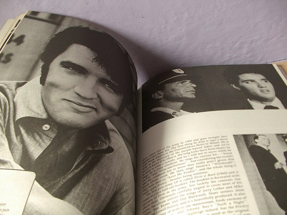 vintage Elvis A Tribute To Elvis King of Rock book, 1977, 1950s 1960s music biography history photographs