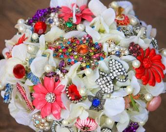 Vintage wedding brooch bridal broach bouquet