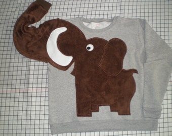 Wooly mammoth sweater, wooly mammoth sweatshirt CUSTOM ORDER your color and size adult, dinosaur, prehistoric