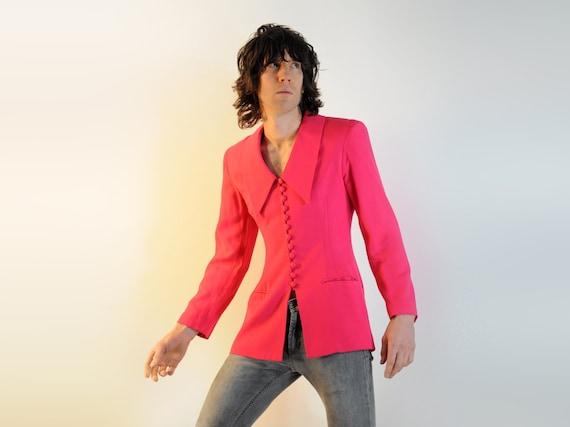 hot pink blazer for guilty pleasures...