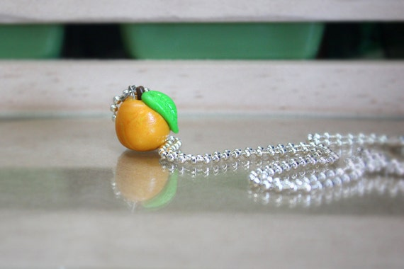 Little Sweet Peach Necklace