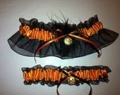Halloween Wedding Garter Set