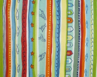 Makower UK Coast Stripes (197-G)