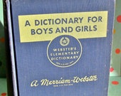 Vintage Children's Dictionary