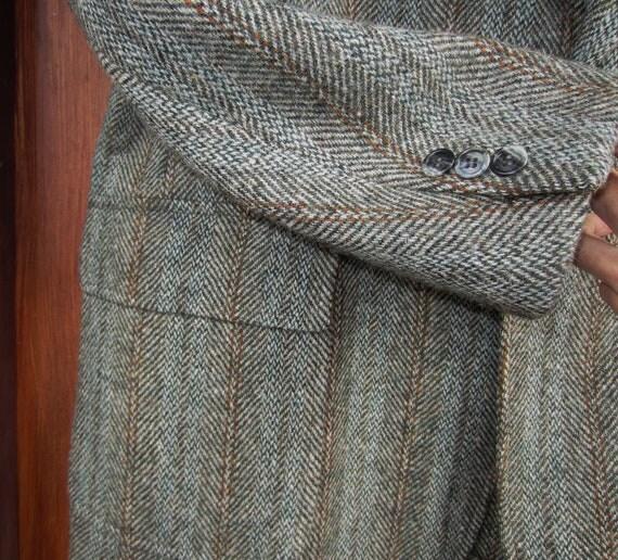 Green Harris Tweed Jacket