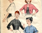 1957 Butterick 8142 Jackets and Capes - Size 16, Bust 36
