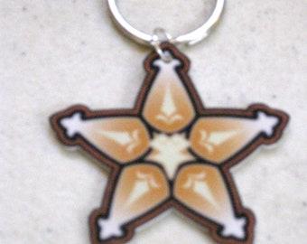 Terra's Lucky Charm - Kingdom Hearts Keychain from Birth By Sleep