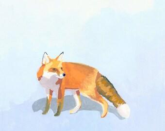 """animal print - fox art - """"Fox 1"""""""