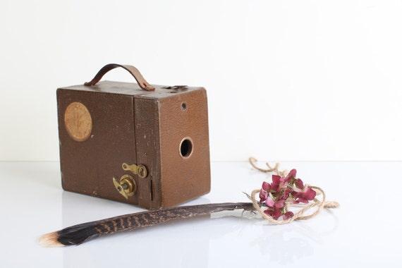 1930's Kodak brown box camera