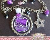 Personalized Megaphone CHEERLEEDER Charm Bracelet, Cheer, Cheer charm, Megaphone, Dance Recital Gift, Christmas Present
