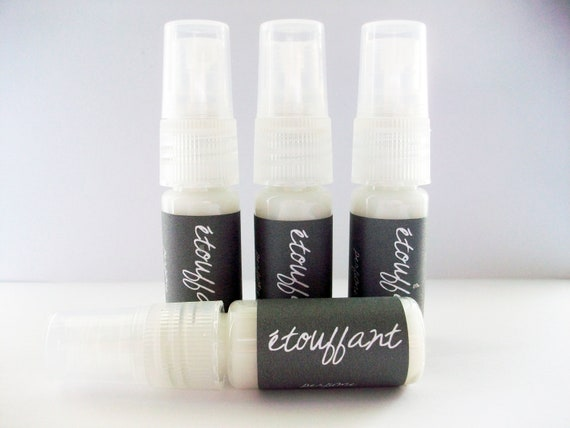 Black Amber and Lavender Perfume spray- étouffant-  (ready to ship)