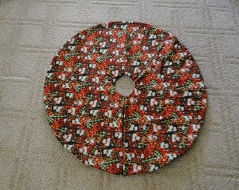 Snowmen Tree Skirt (large )