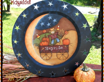 E PATTERN - Hayride - Brand New Prim Fall Pattern - Design from Terrye French, Painted by me, Sharon B - FAAP