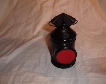 vintage avon perfume bottle captains lantern empty