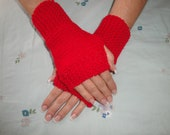 Fingerless Gloves, Hand Knit   Fashion  Winter Trend Wrist Warmers