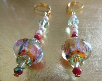 Romantic Love ,dangle earrings  E292
