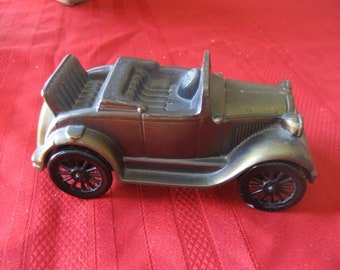 Vintage Banthrico Bank 1929 Ford Convertible