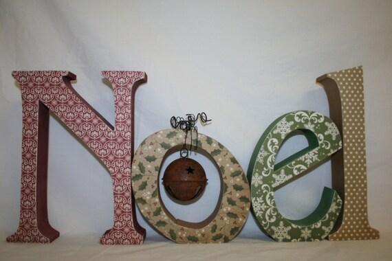 Items similar to christmas decoration noel decor