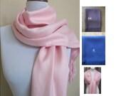 Pashmina,Light Pink Pashmina Scarf, Shawl, Wrap, bridal shawl, bridesmaids shawl, bridal gift