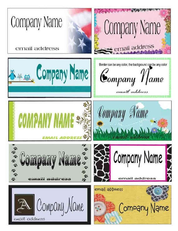 "Custom Fabric sew on Labels. 1000's of graphic to choose from, or use your design. 8"" X 10"" sheets"