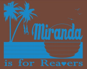 Miranda is for Reavers Funny Serenity Firefly T-Shirt - Free Shipping