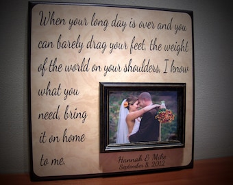 Popular Items For Wedding Song Frame On Etsy