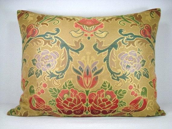 Jacquard Pillow Decorative Lumbar Pillow Woven Jacquard Pillow