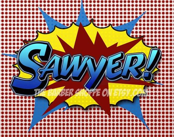 Custom Order for Sawyer