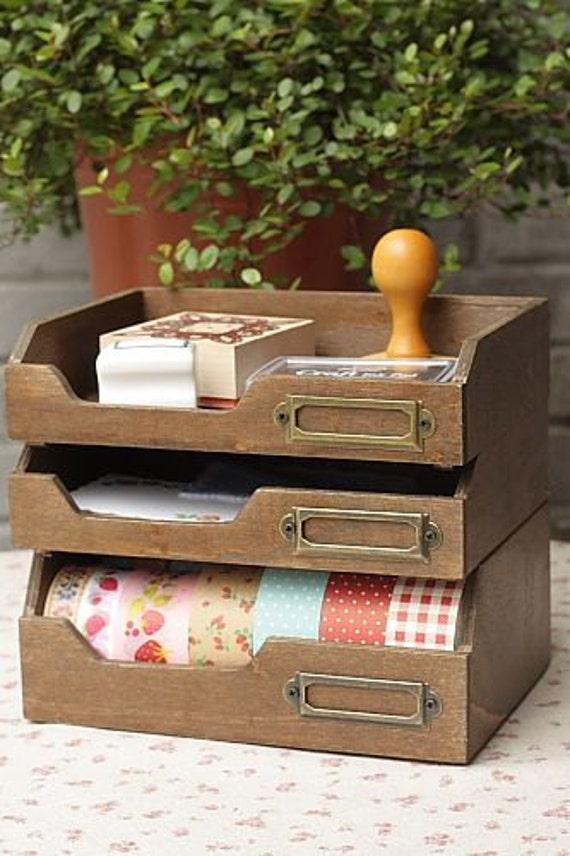 washi tape organizer desktop organizer masking tape holder. Black Bedroom Furniture Sets. Home Design Ideas