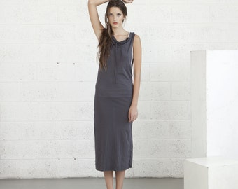 End of Summer Sale,Knit Maxi Dress,maxi dress,grey dress