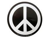 Peace Symbol Vinyl Sticker