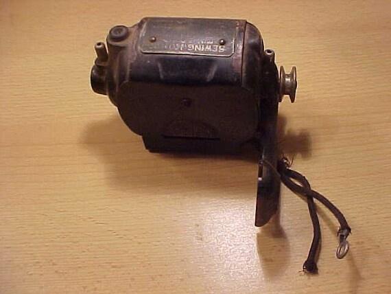 Singer Sewing Motor B.T.7  .6 Amps vintage 40s