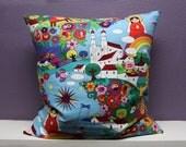 Mexican Color Celebration 20x20 pillow