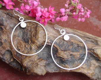 Fine Silver Earrings - The Way of life (8)