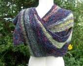 Super Wrap, hand knit shawl