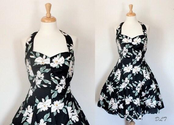 Vintage Hawaiian Dress / 80s Dress / 80s by DuncanLovesTess